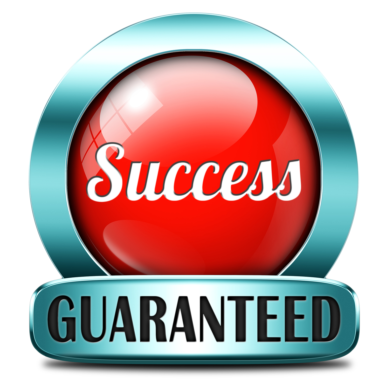 success guaranteed in life business and live in happiness and jo