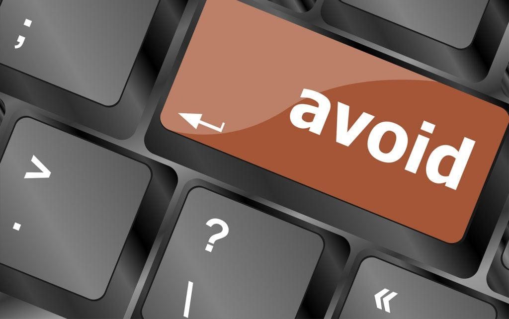 Avoid Word On Keyboard Key, Notebook Computer